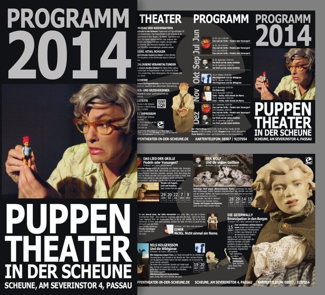 Download Programm 2014 Puppentheater in der Scheune, Passau, Niederbayern
